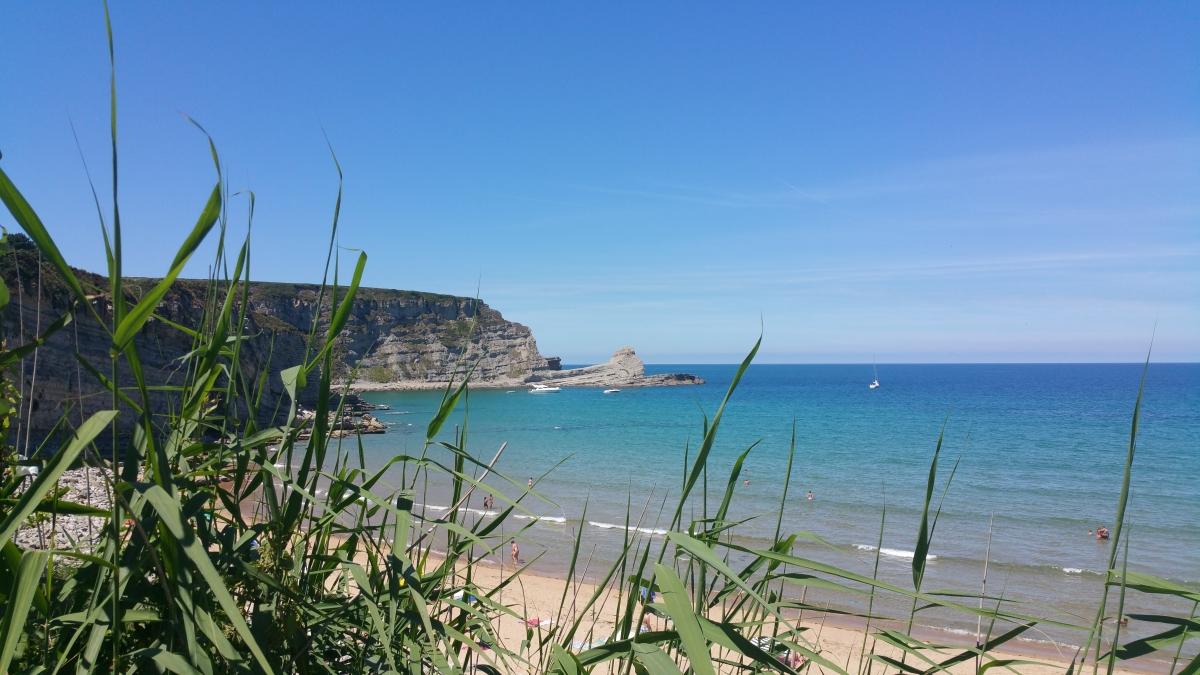 Playa de Langre.