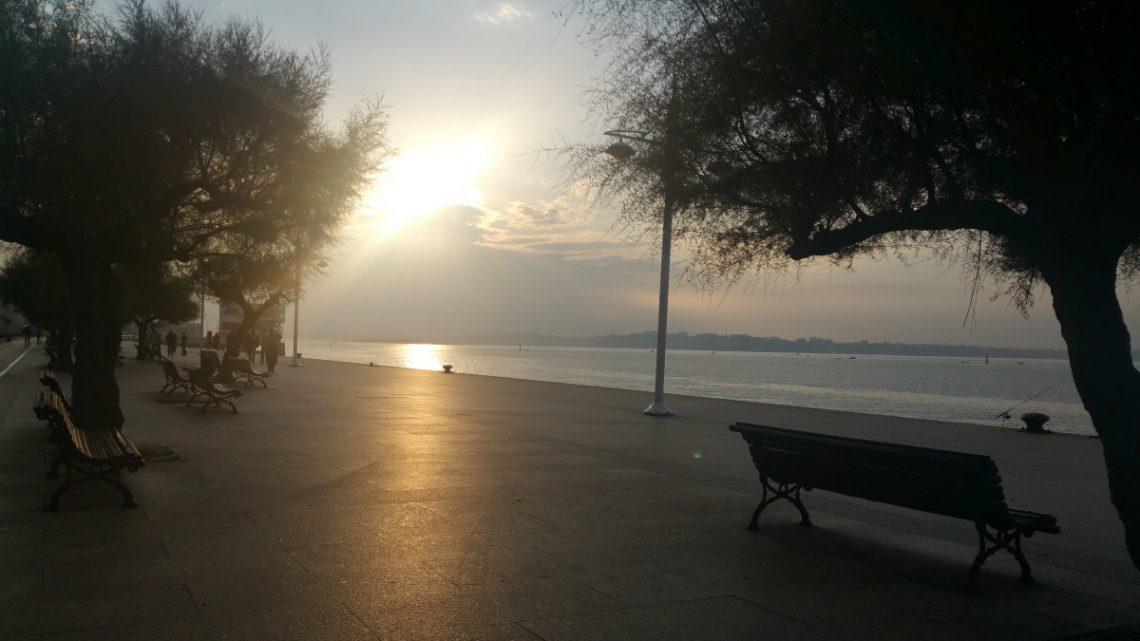 La bahía de Santander.