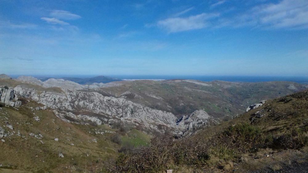 Vistas desde Los Machucos. Bustablado de Arredondo.
