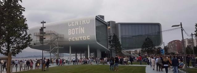 La inauguración del Centro Botín
