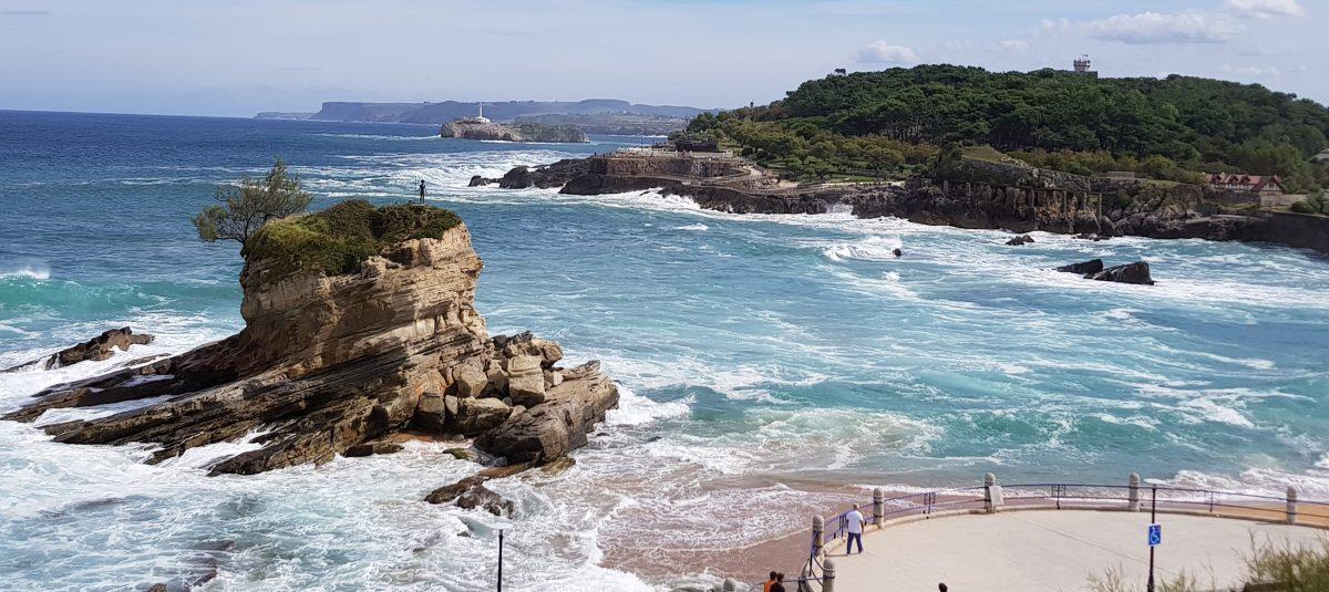 La playa del Camello. Santander.